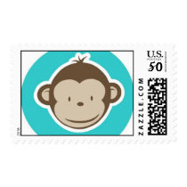 Monkey Stamp