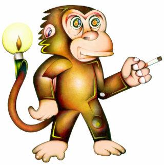 monkey statuette