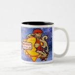 Monkey Styles Skateboarding Gear Coffee Mugs