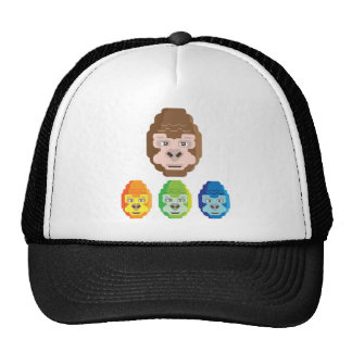 Monkey Stylized Icon Trucker Hat