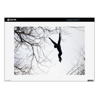 "Monkey Swinging 15"" Laptop Decal"