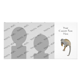 Monkey that is Eating. Photo Cards