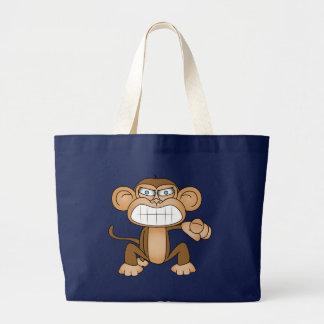 Monkey Tote Bags