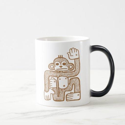 Monkey Totem Mug