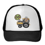 Monkey Train Engineer T-shirts and Gifts Hats