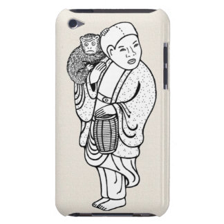 Monkey trainer netsuke iPod touch cover