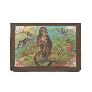 Monkey Tri-fold Wallet