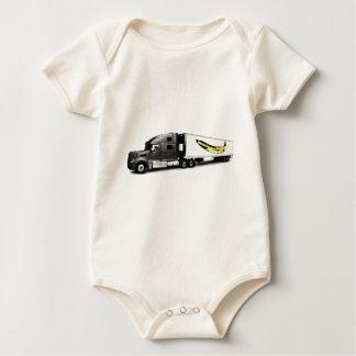Monkey Trucker! Baby Bodysuit