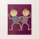 Monkey Twins Puzzle