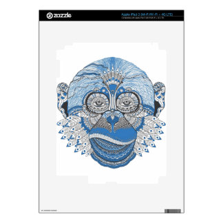 Monkey -universal decals for iPad 3