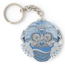 Monkey -universal keychain