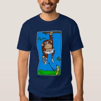 Monkey v. Banana Tee Shirt