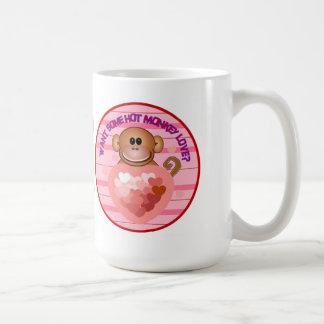 Monkey Valentines Day Mug