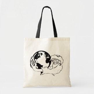monkey vision tote bag