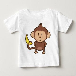 Monkey w/ Banana Baby T-Shirt