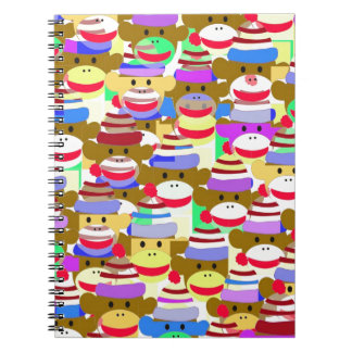 Monkey Wallpaper. Spiral Notebook