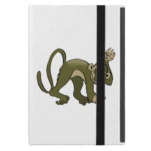 Monkey Waves At You iPad Mini Case