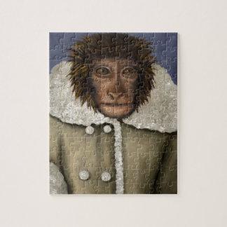 Monkey Wearing Jacket Puzzle