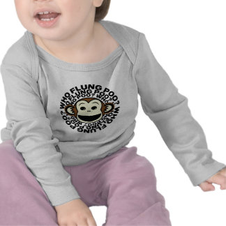 Monkey - Who Flung Poo Shirt