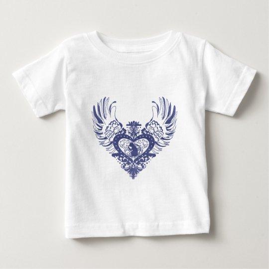 Monkey Winged Heart Baby T-Shirt