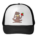Monkey With Apple Hat