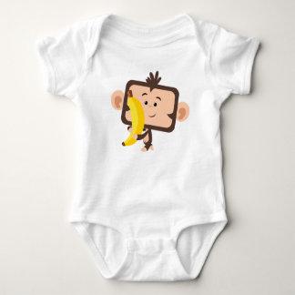 monkey with banana t shirt