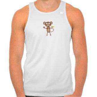 monkey with banana tank top