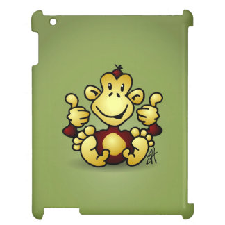 Monkey with four thumbs up cover for the iPad