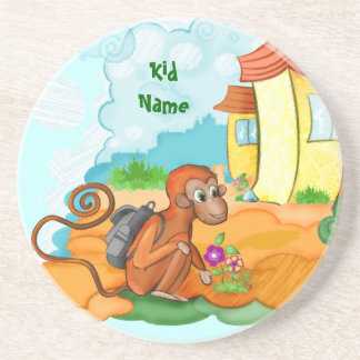 Monkey With Long Tail kids coaster