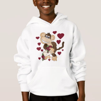 Monkey With Red Roses Tshirts and Gifts
