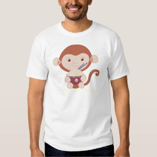 Monkey with Rice Bowl Shirt