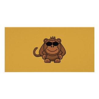 monkey-with-sunglasses photo card