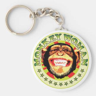 Monkey Woman Key Chains