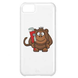 Monkey Wrench Cartoon Case For iPhone 5C