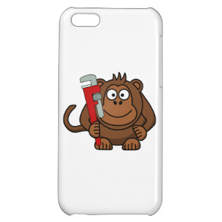 Monkey Wrench Cartoon Cover For iPhone 5C