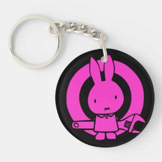 Monkey Wrench Rabbit Keychain