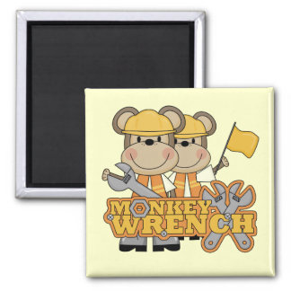 Monkey Wrench T-shirts and Gifts Refrigerator Magnet