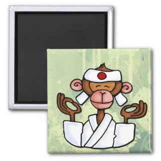 monkey zen 2 inch square magnet