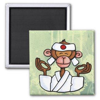 monkey zen magnet