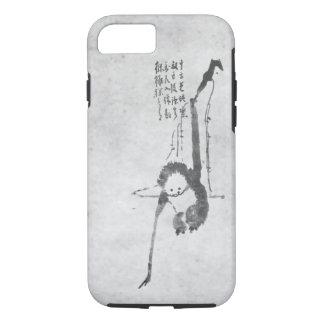 Monkey zen painting meditation phone iPhone 7 case