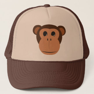 MonkeyFace_Clip_Art Trucker Hat