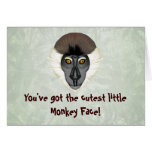 Monkeyficent Greeting Card