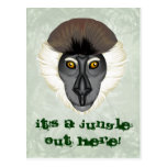 Monkeyficent Postcard