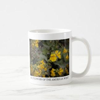 Monkeyflower amarillo taza