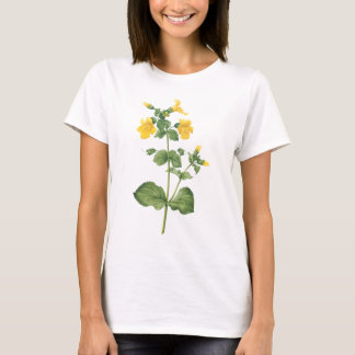 monkeyflower(Mimulus sp.) by Redouté T-Shirt