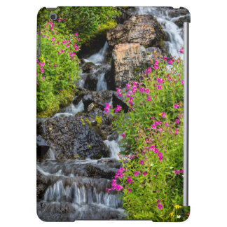 Monkeyflowers Along Lunch Creek In Glacier Cover For iPad Air