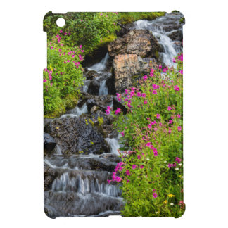 Monkeyflowers Along Lunch Creek In Glacier iPad Mini Cases