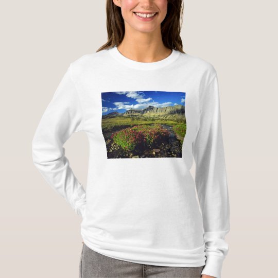 Monkeyflowers at Logan Pass in Glacier National T-Shirt