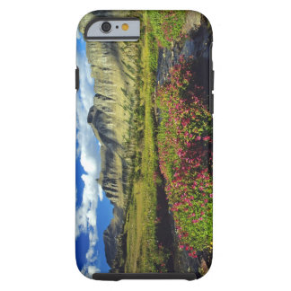 Monkeyflowers at Logan Pass in Glacier National Tough iPhone 6 Case