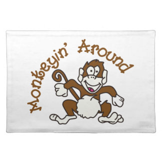 Monkeying Around Placemat